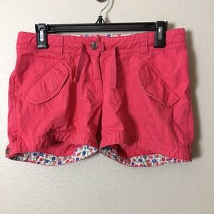 Mini BODEN pink shorts size 14Y girl youth